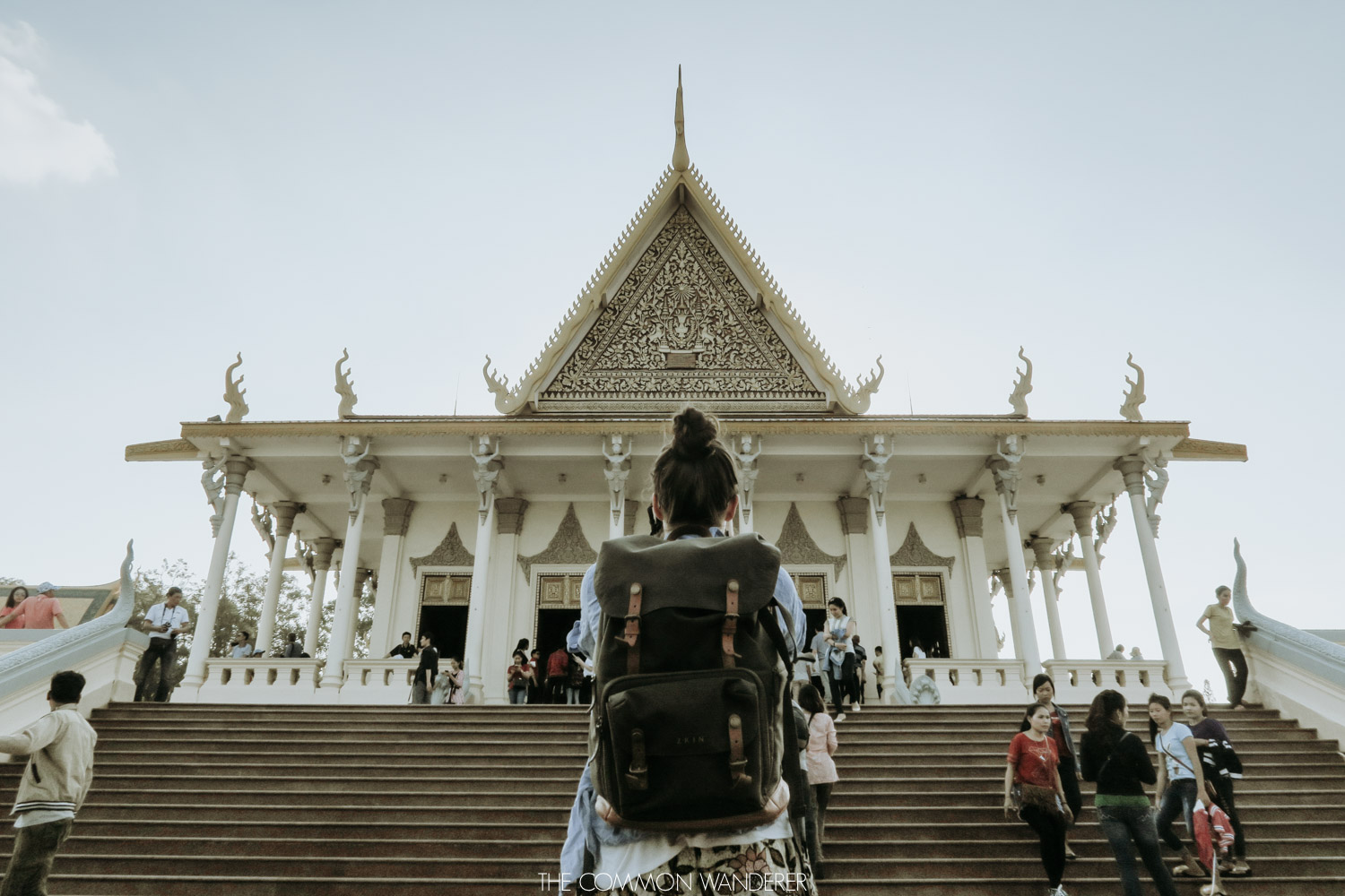 Cambodia photo diary - Phnom Penh palace