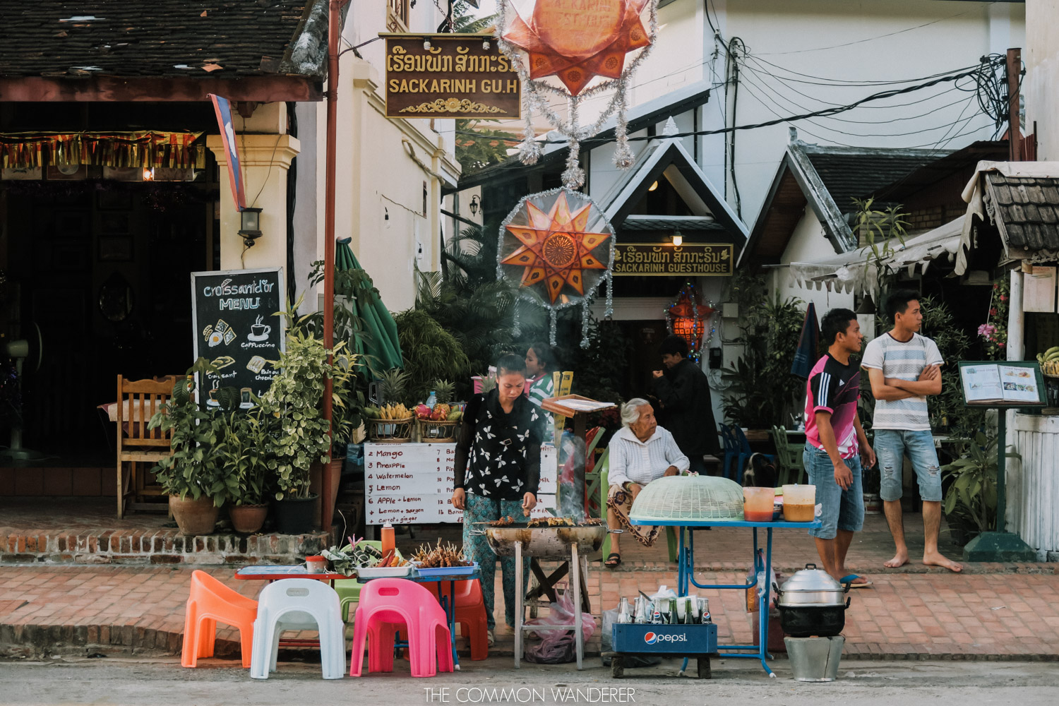 cost of travelling in Laos - markets