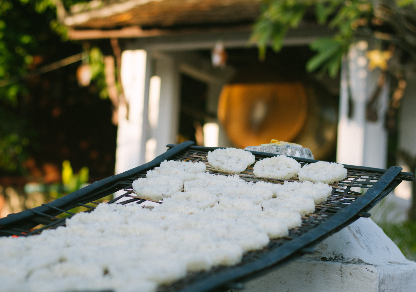sticky rice for morning alms in luang prabang Laos