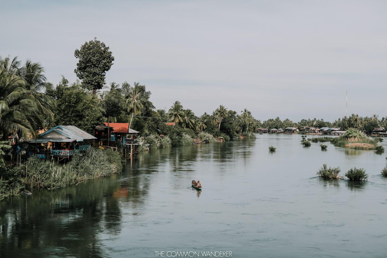 Don Det 4,000 islands in Laos