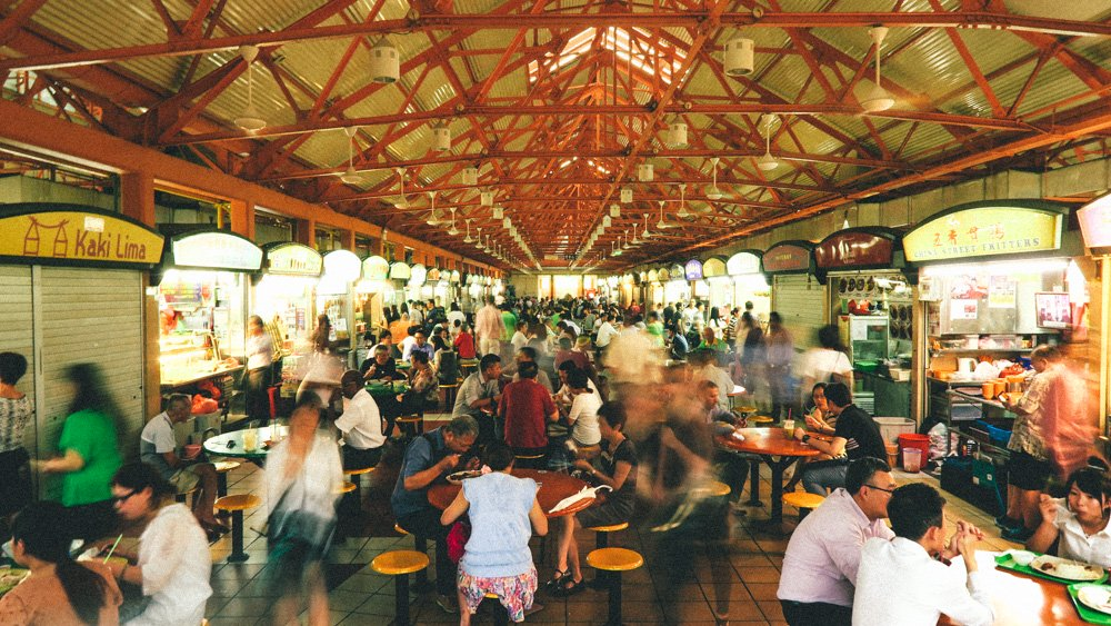 Singapore Food guide - Maxwell Road Hawker Hall