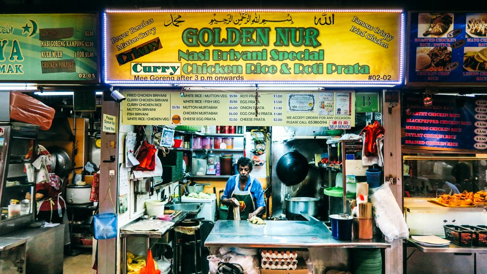 Singapore Food guide - Market St Food Centre