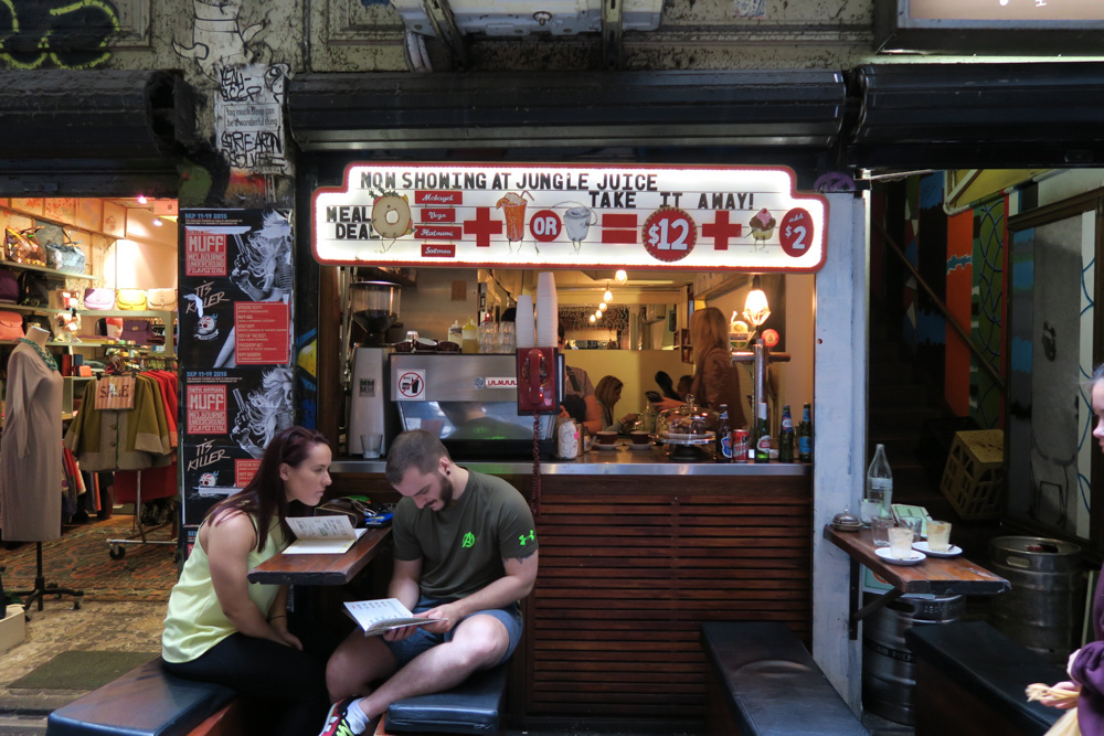 Melbourne on a budget - laneways
