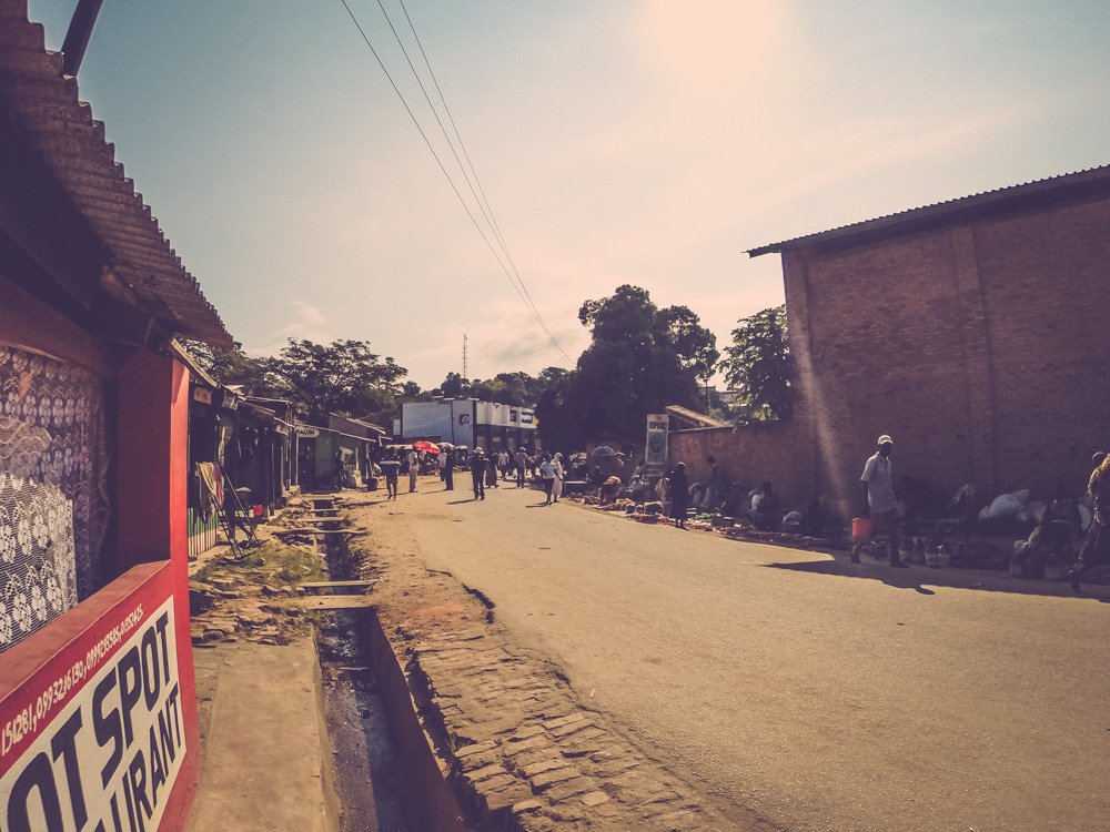 Nkhata Bay main street