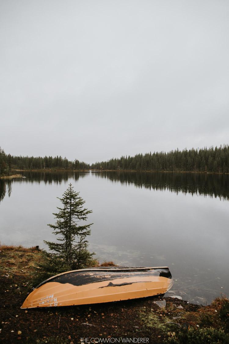 lakes in Arjeplog Swedish Lapland