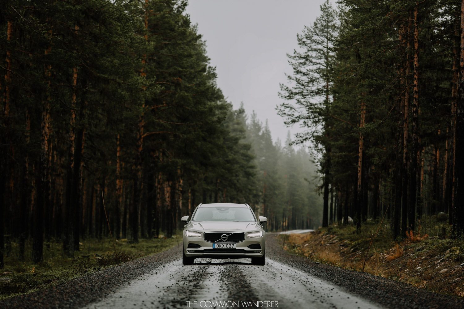 A Volvo road trip in Swedish Lapland