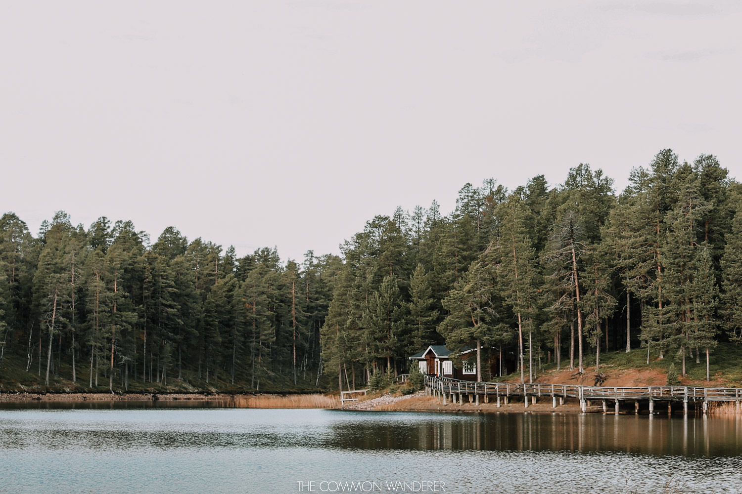 Lapland Pictures: cabin by the lake in Arjeplog, swedish lapland