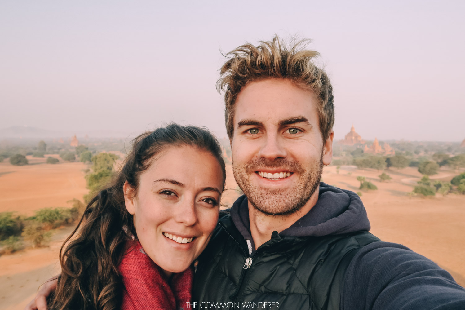 how we saved to travel the world - at Bagan Myanmar