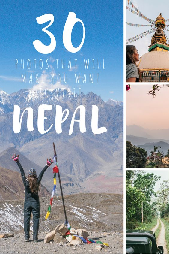Home to dramatic peaks, roaring rivers, animal rich lowlands and the friendliest people on the planet. These 30 photos of Nepal will make you want to visit.