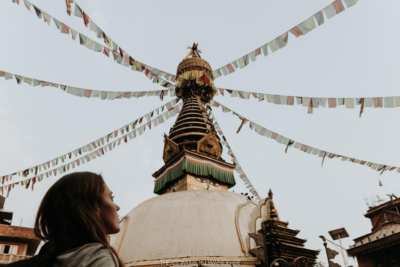 overlooking Swayambhunath temple, Kathmandu - 30 photos that will make you want to visit Nepal