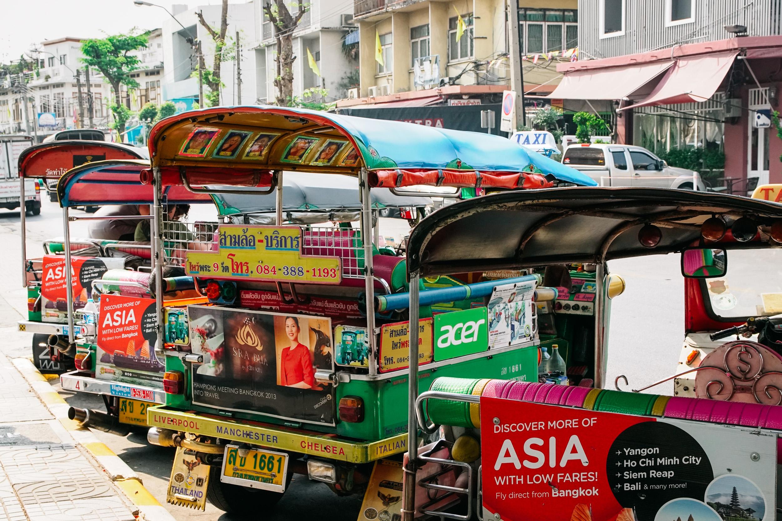 Tuk Tuk Experience Urban Adventure Tour - Bangkok