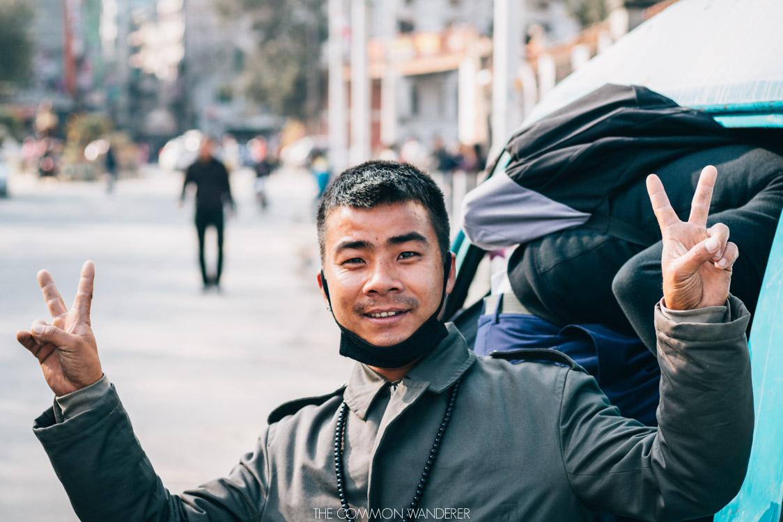 friendly nepalese locals