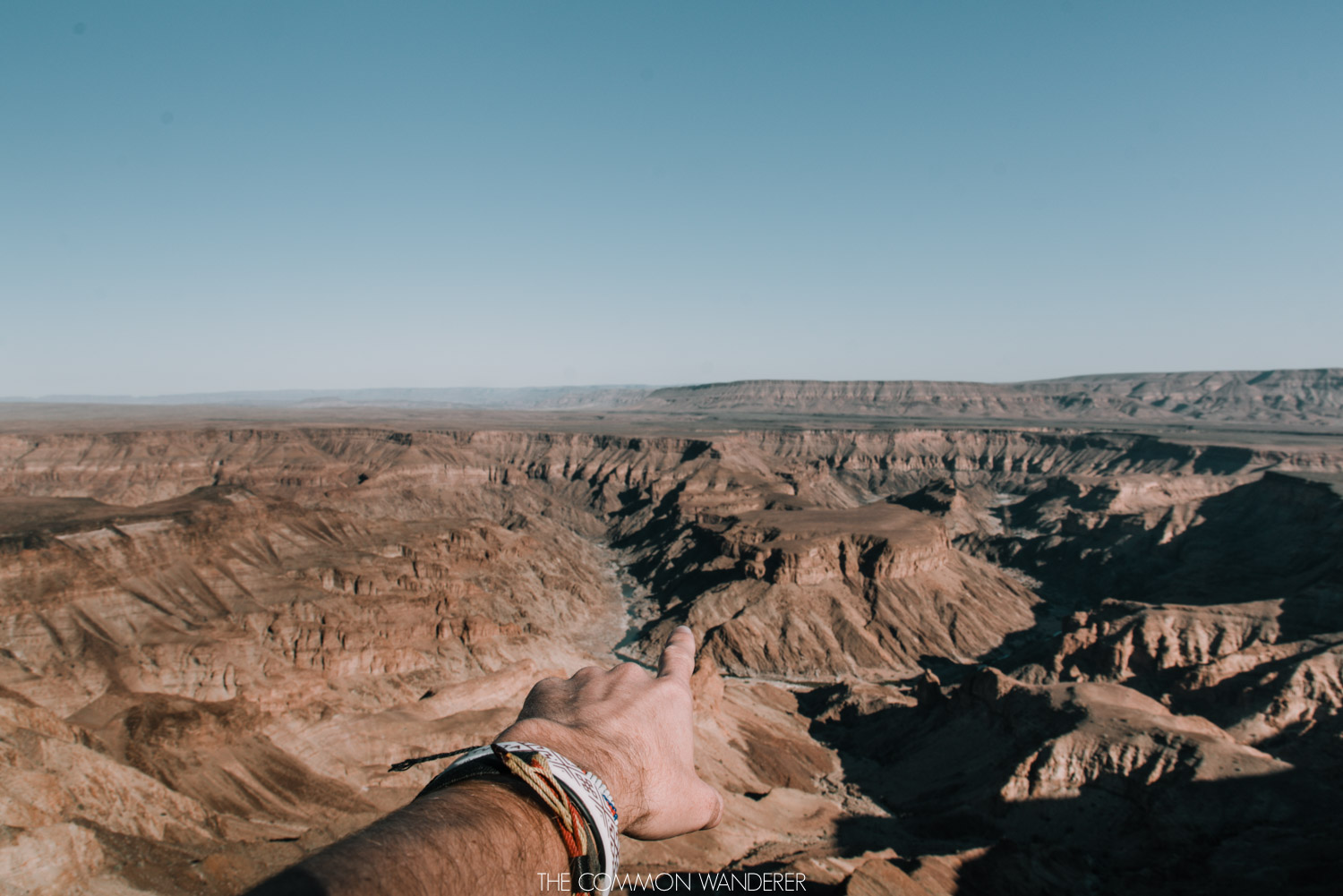 Looking out over the Fish River Canyon, Namibia - The Common Wanderer