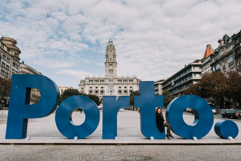 The Porto sign - Porto photo diary