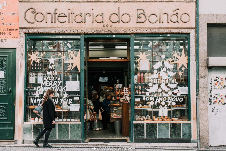 The Confeitaria do Bolhao bakery, a busy 100-year old bakery full of sweet treats in Porto