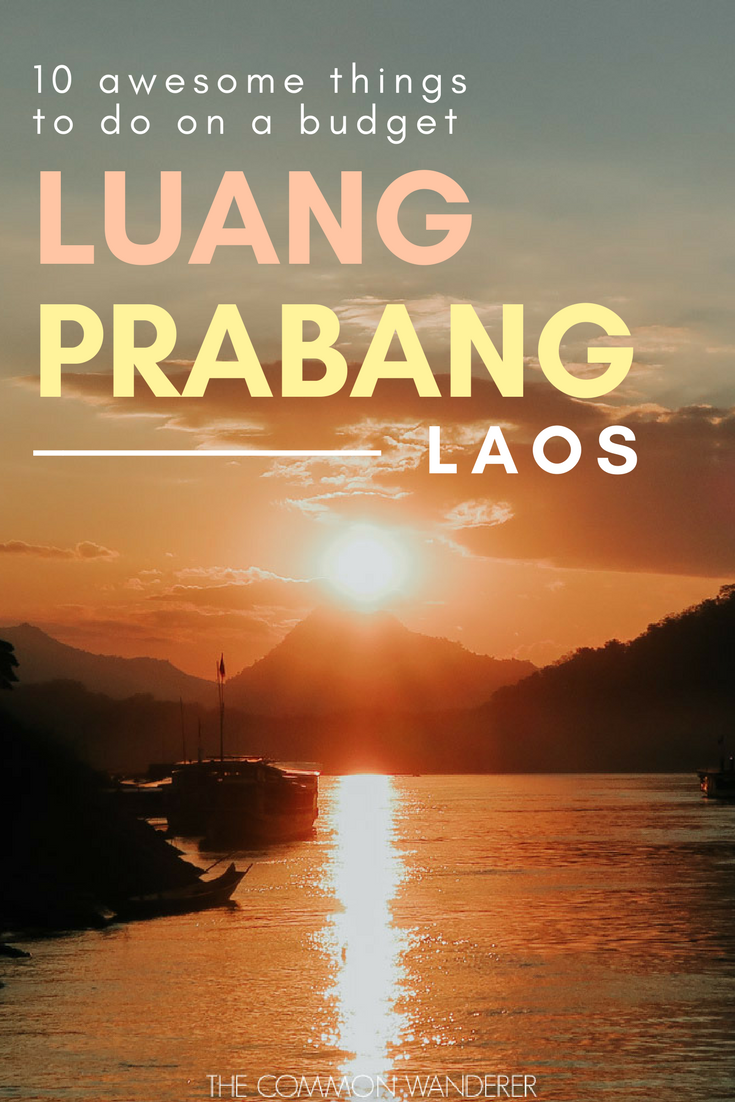 From the 33 active golden temples to the turquoise waters of Kuang Si Falls, and the vibrant Luang Prabang night market to the sunset views from Mount Phousi, there are so many awesome things to do in Luang Prabang. Our guide gives you the lowdown on them all! | Luang Prabang | Luang Prabang Laos | Luang Prabang night market | Luang Prabang things to do | Luang Prabang hotels | Luang Prabang Laos travel | Luang Prabang Laos photography | Luang Prabang temples | Luang Prabang itinerary | #Luangprabang #Laos #Laostravel