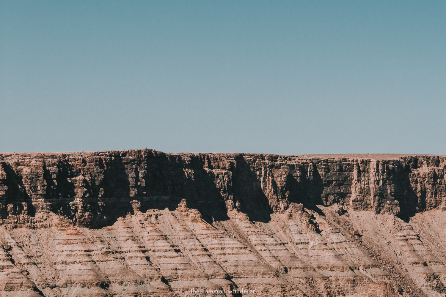 The cliffs of Fish River Canyon, Namibia
