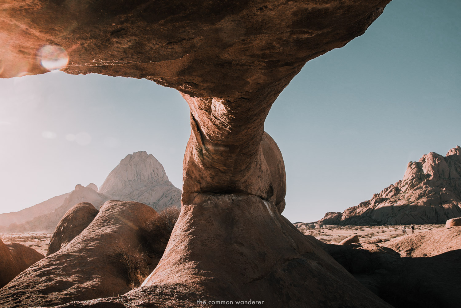 The famous arch in Spitzkoppe National Park, Namibia - Namibia photos