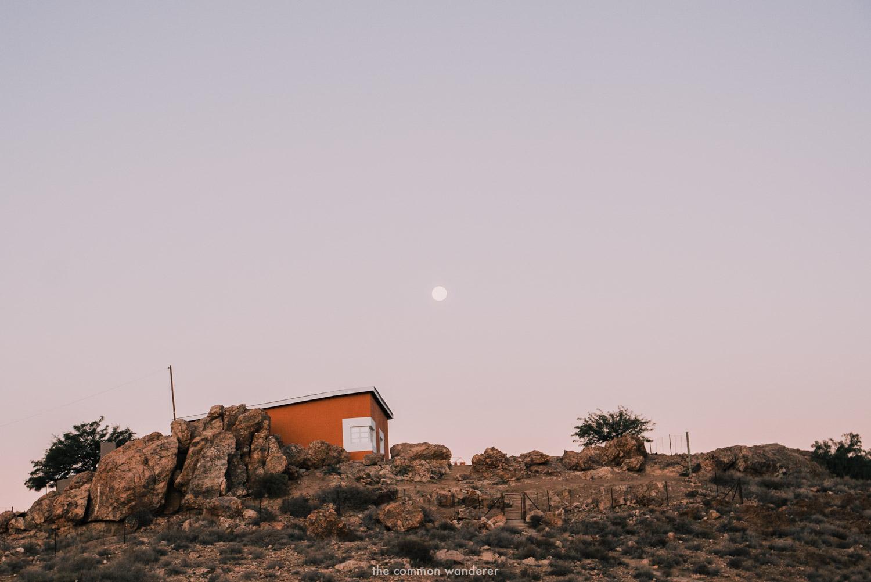 Sunset over Aus, Namibia