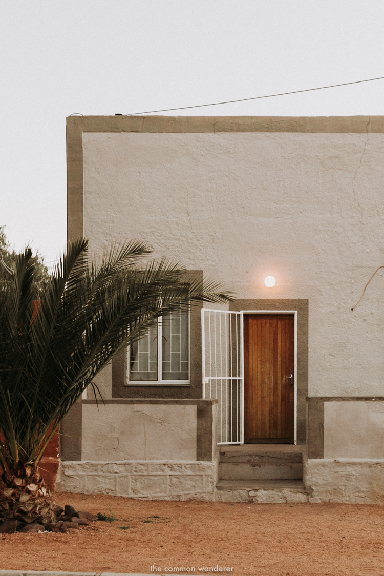 An old Germanic home in Aus, Namibia