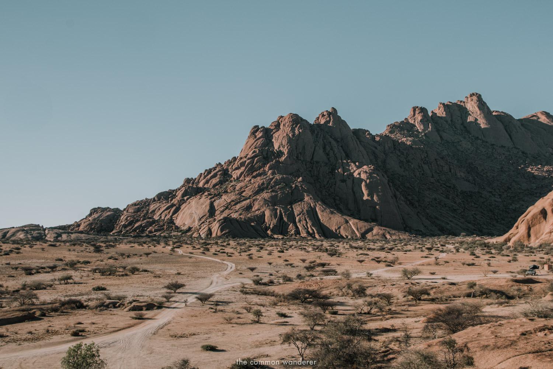 Spitzkoppe mountain range, Namibia