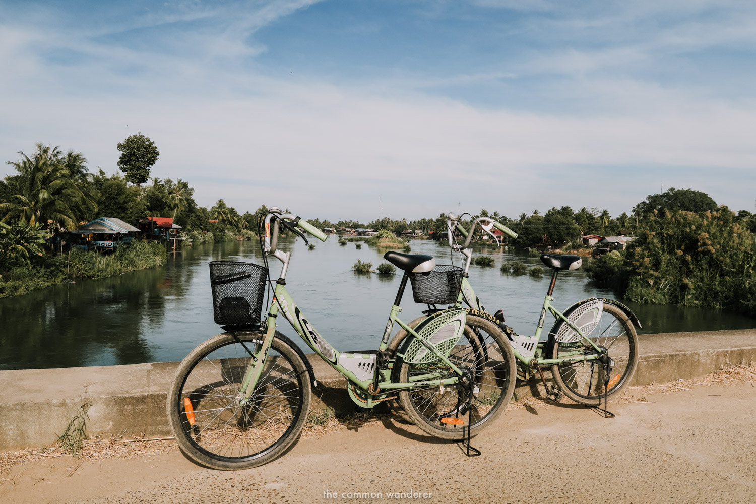 Cycling on Det Det Island is one of the best things to do in Don Det, Laos