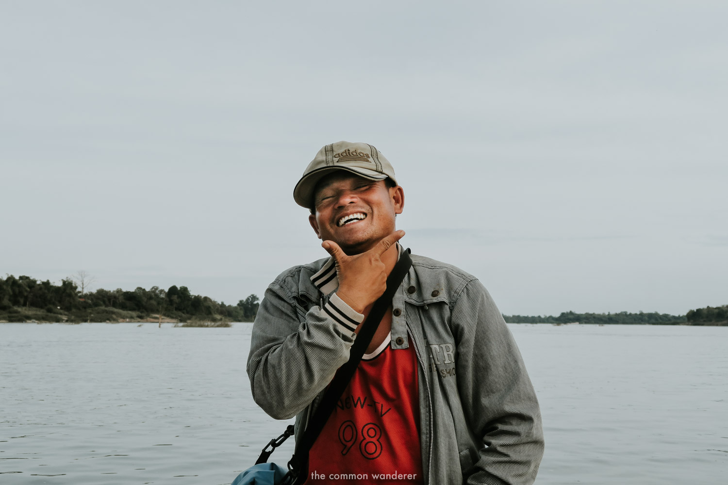 Our guide while searching for Irrawaddy dolphins in Don Det 4000 Islands, Laos