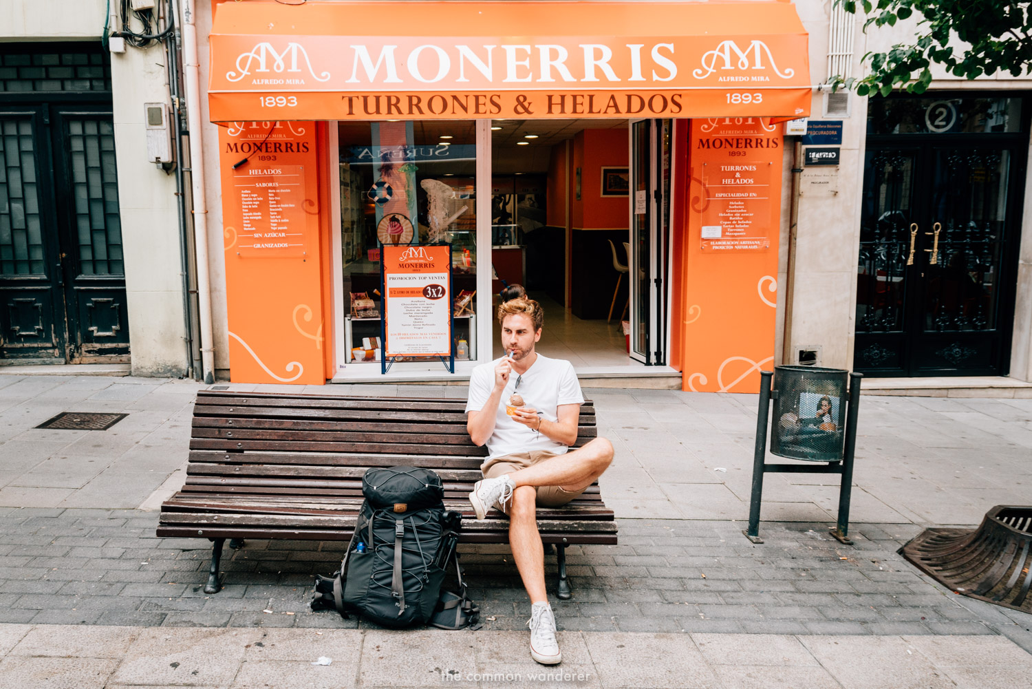 Santander Spain things to do-eat monerris ice cream