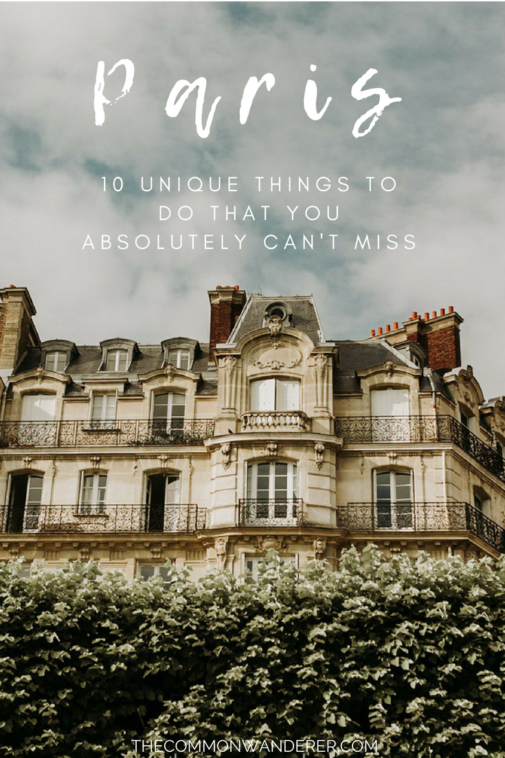 There's probably no city in the world quite as magical as the City of Lights! If you're looking for cool or interesting things to do in Paris, here are our favourite ways to spend time in the French capital. | Paris | things to do in Paris | Paris attractions | France #paris #france