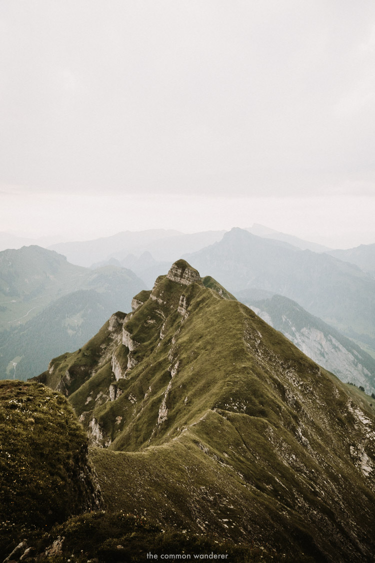 Rolling hills in Vorarlberg