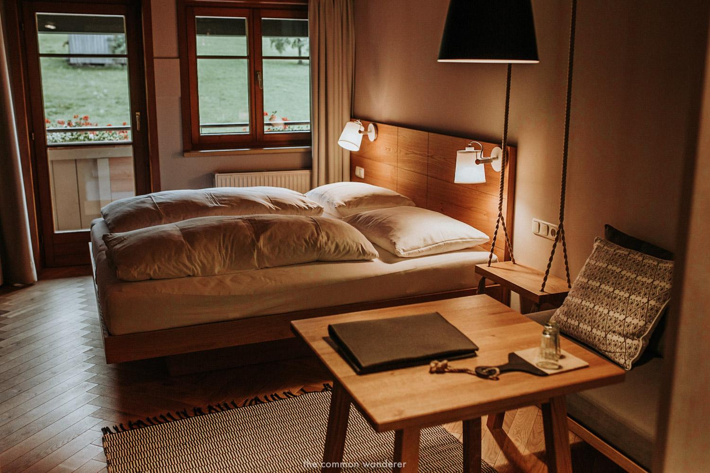 a room at Hotel Rössle, Au