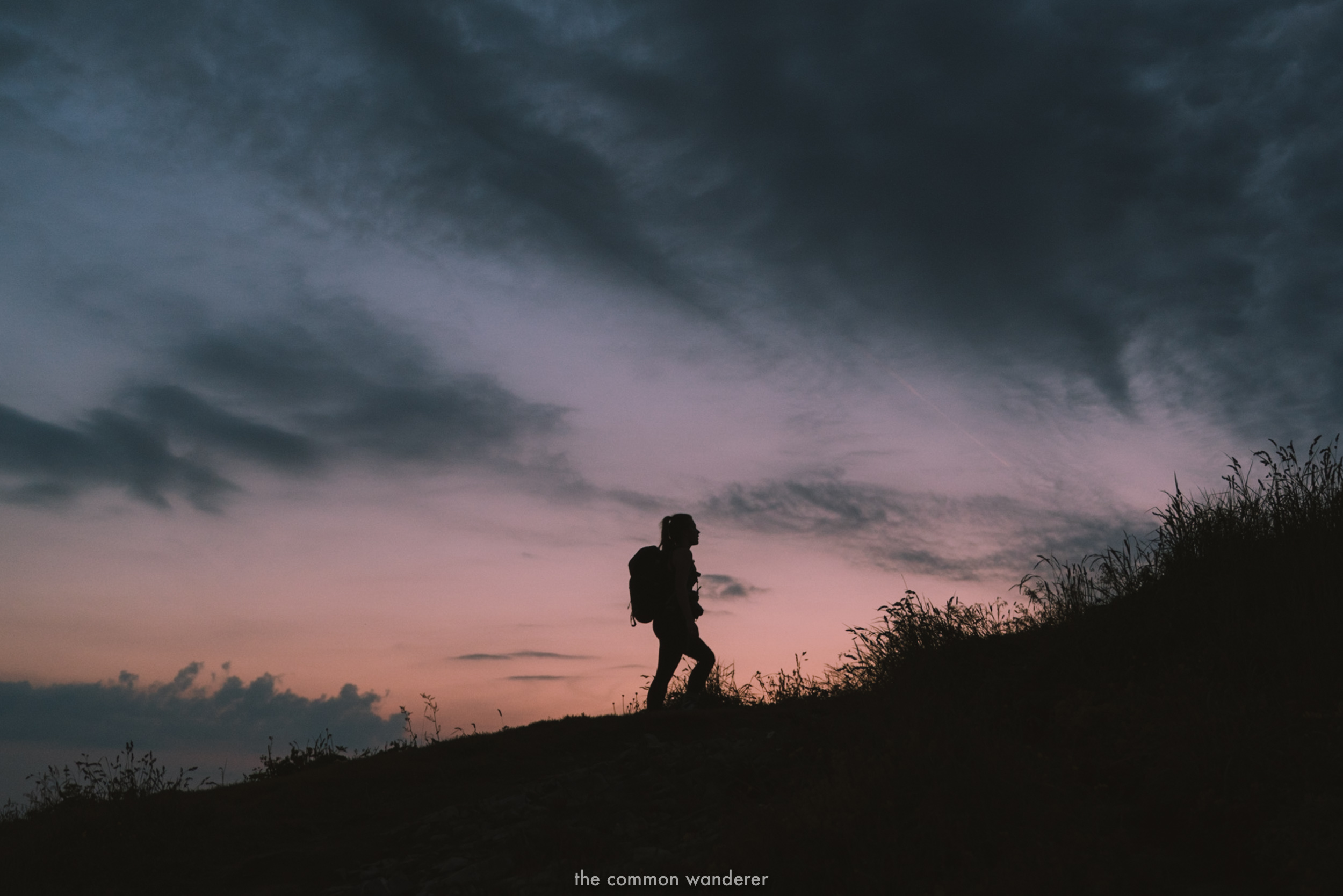 sunrise hike to kanisfluh mountain, vorarlberg