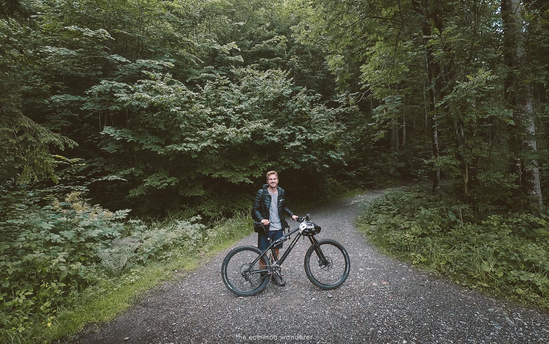 Mountain biking in Bregenz forest, Bregenzerwald