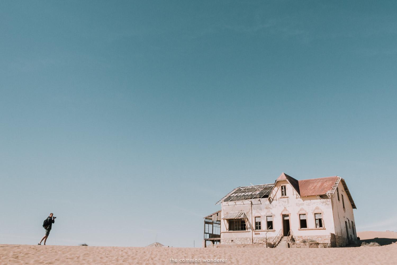 the eerie ghost town of Kolmanskop - Namibia things to do