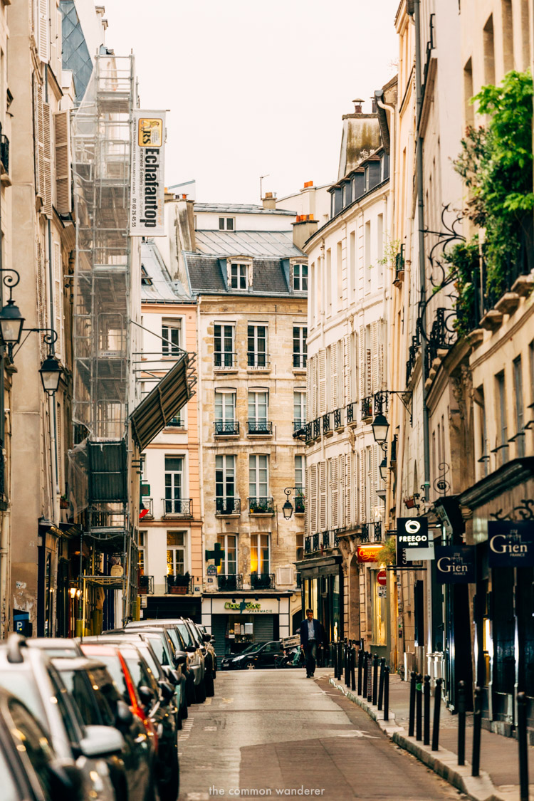 A street in St Germain, Paris