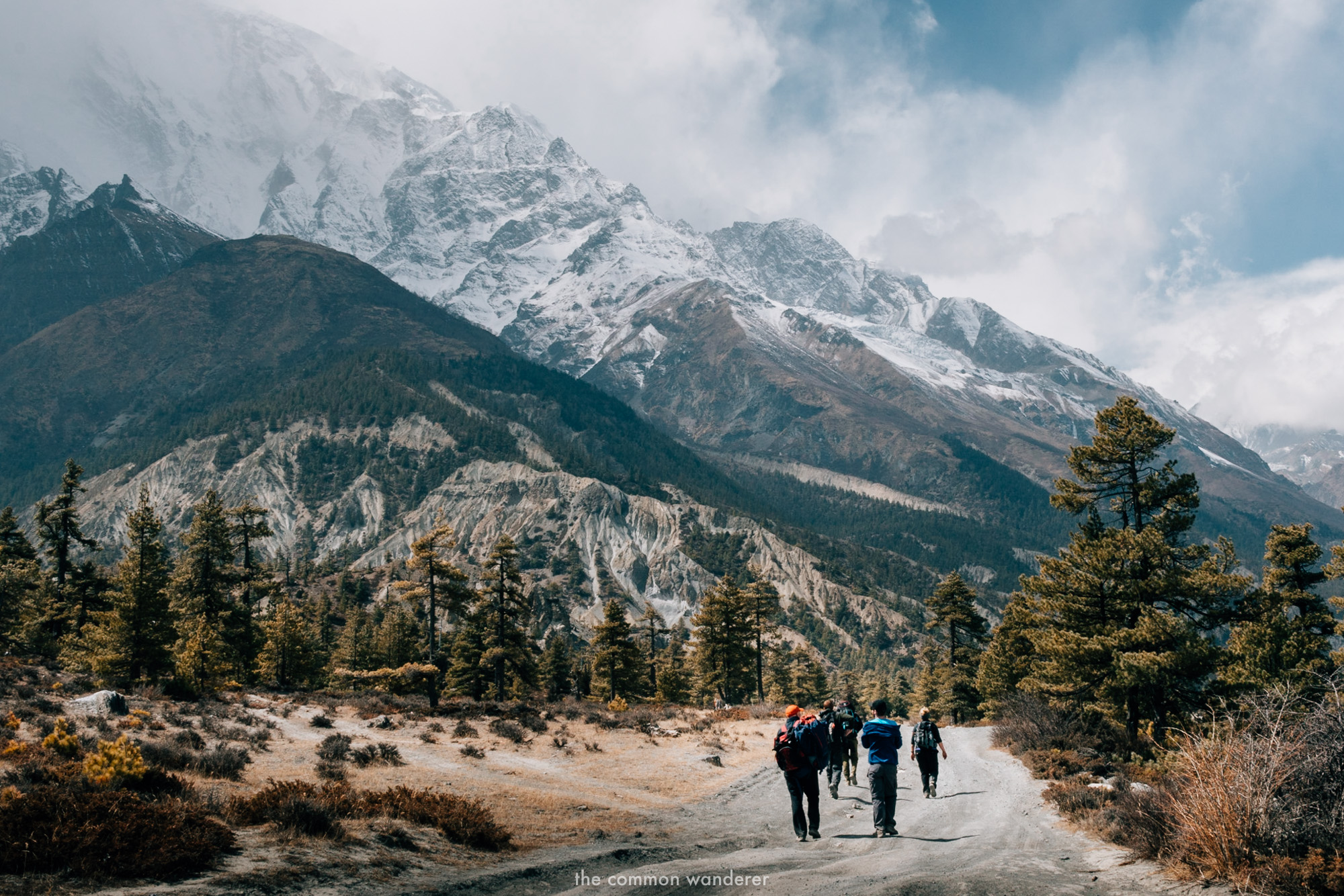 What to pack for the Annapurna circuit trek in Nepal