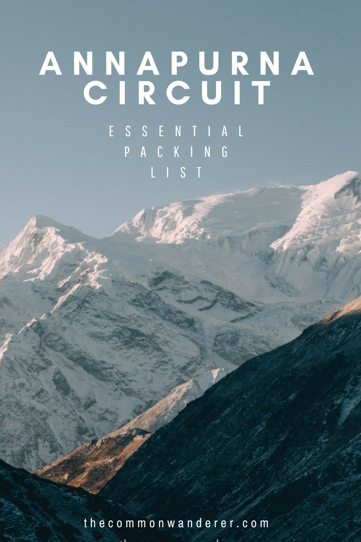 Looking for the ultimate Annapurna circuit packing list? From what to put in your daypack and the best hiking clothes to take, to the essential hiking gear you need for a successful summit, we've got you covered. | Annapurna Circuit | Nepal trekking | travel packing list | mountain trek | Thorong La Pass | Nepal travel | #Annapurna