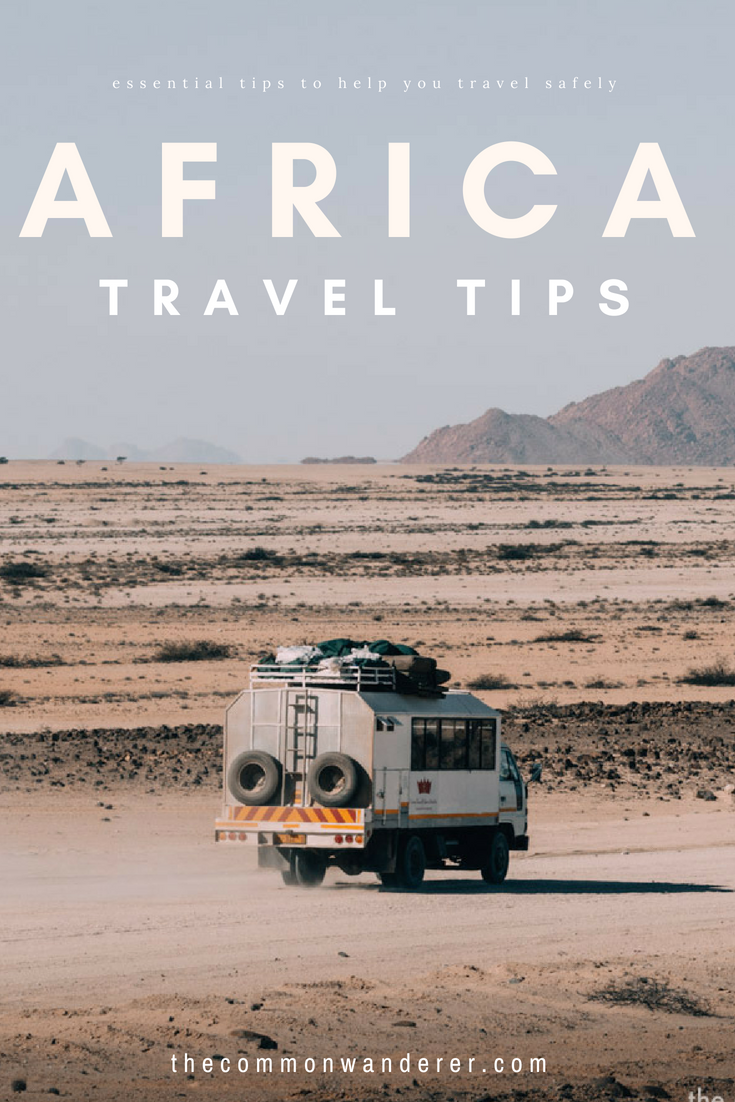 Planning a trip to Africa soon? From what to know before you go, how to travel around, and how to stay safe, to avoiding border scams, travel health, and finding accommodation, our Africa travel guide will answer all your questions! | Africa travel | Africa safari | Africa travel tips | backpacking Africa |
