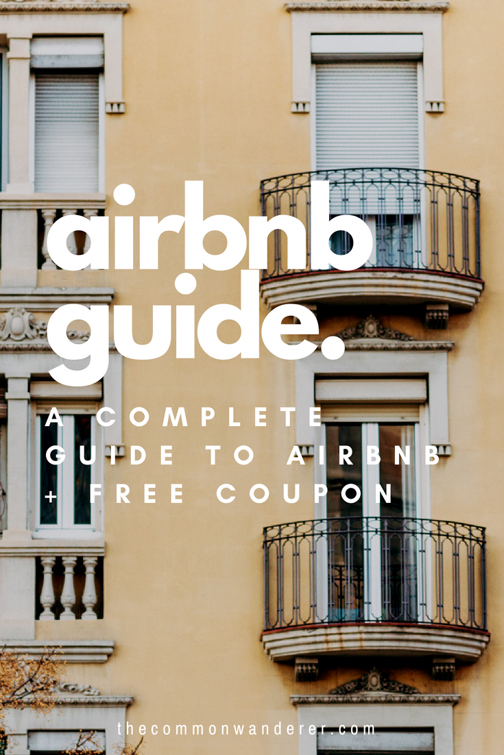 Using Airbnb for the first time and not sure how to get started? From tips on how to find the best apartment to finding the cheapest deals, here's our complete guide to Airbnb, including a free airbnb coupon for your first stay! | Airbnb | travel accommodation | hotels | travel guide | #airbnb