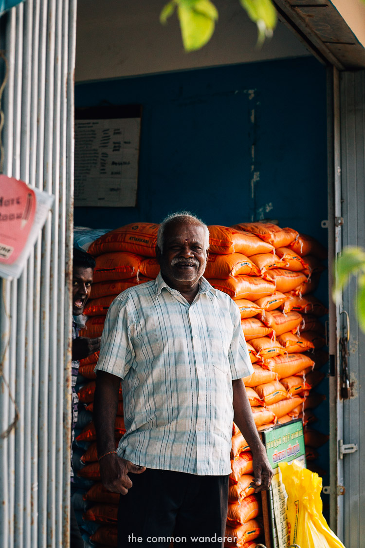 meeting and chatting with locals in Jaffna - one of the best things to do in Jaffna, Sri Lanka