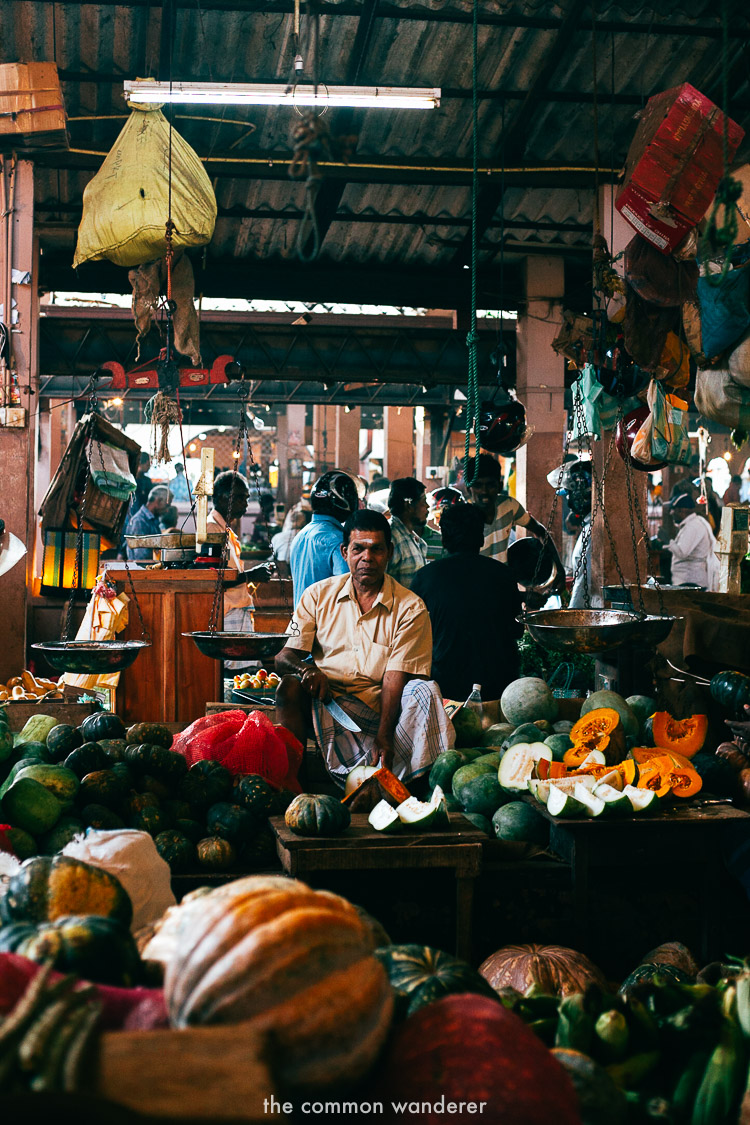 Local life in Jaffna markets