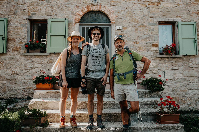 Hiking the Via Matildica in Emilia Romagna, Italy