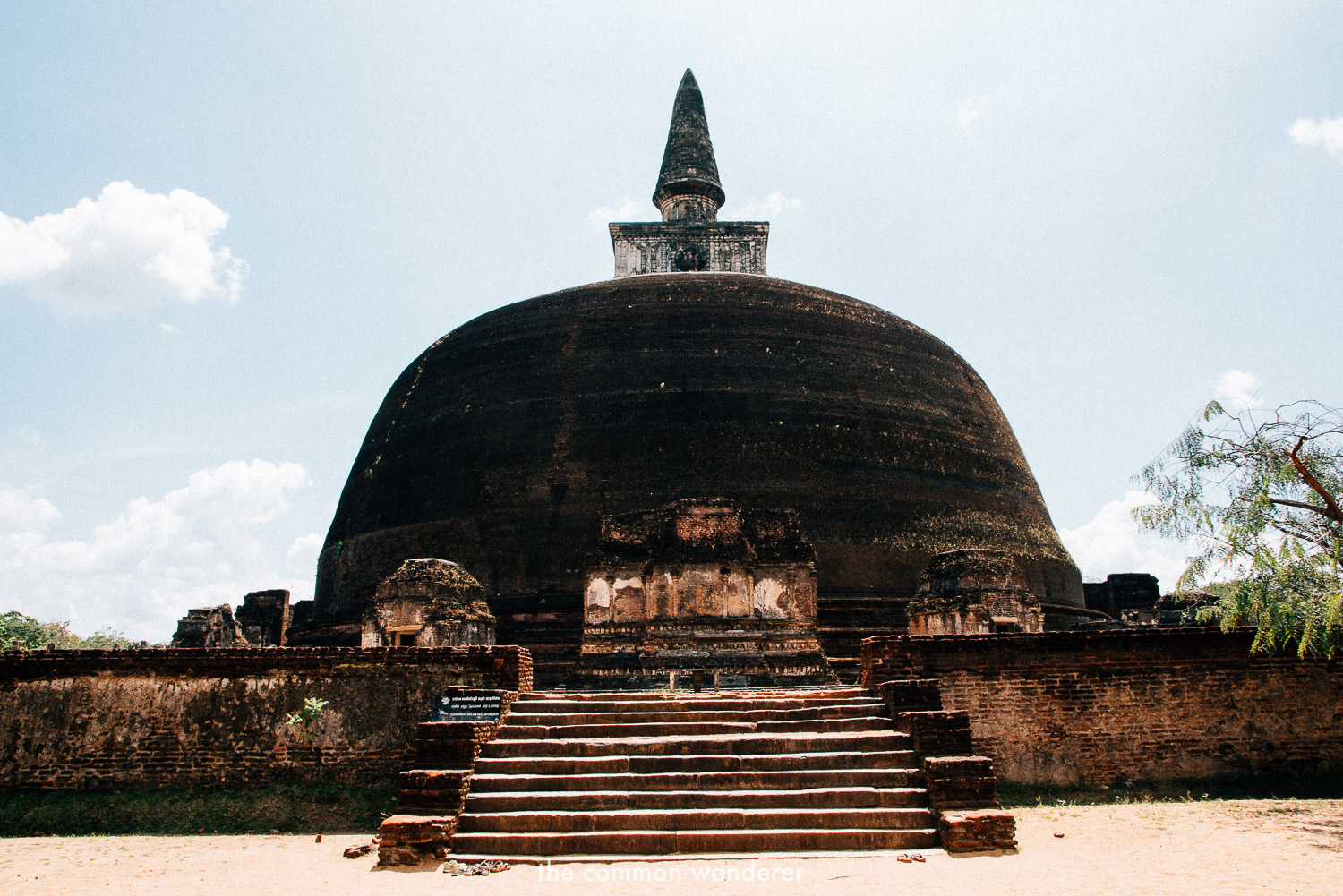 The sacred quadrangle in Polonnaruwa, Sri Lanka - the best things to see and do in Sri Lanka