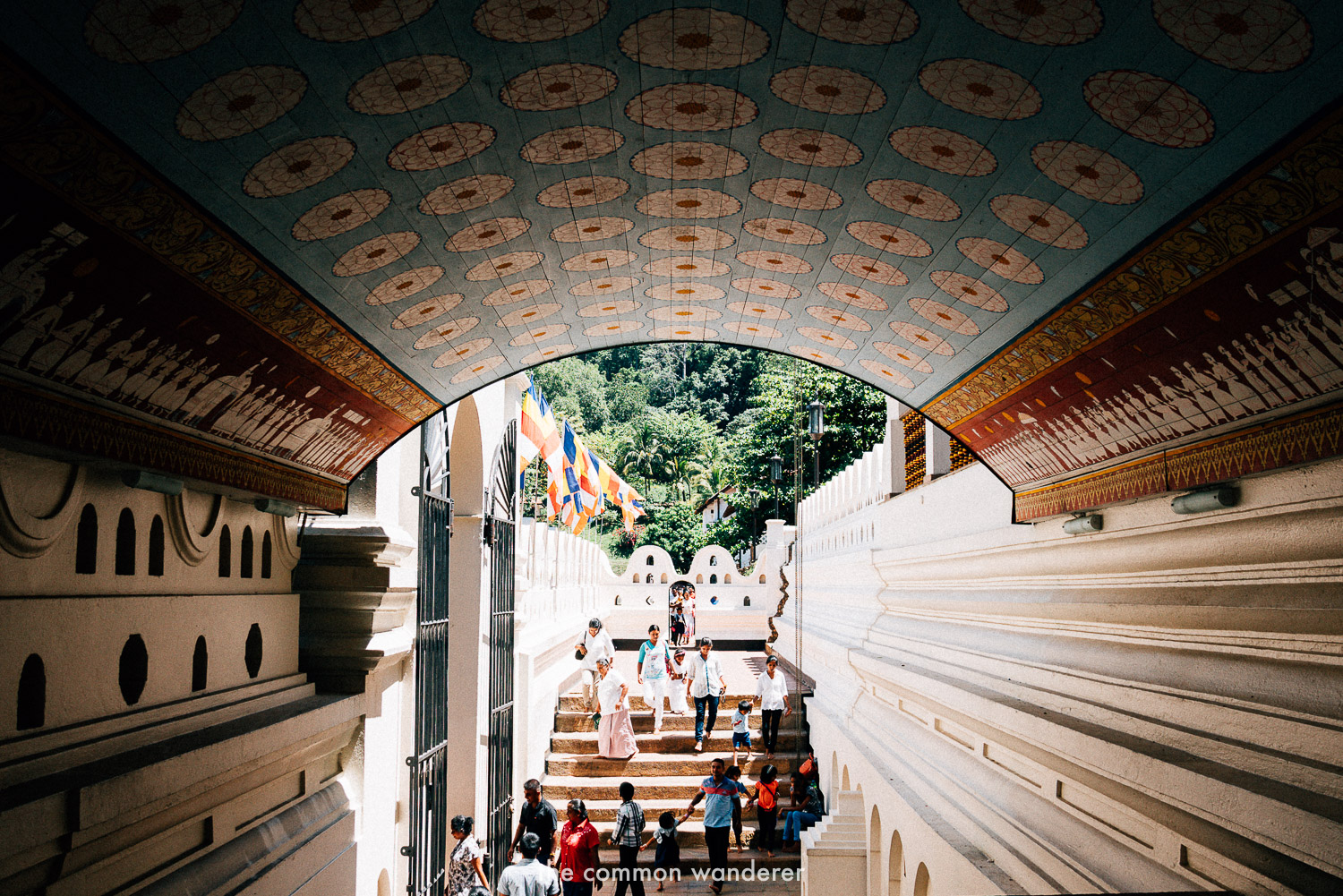 The temple of the sacred tooth relic, Kandy - the best things to see and do in Sri Lanka