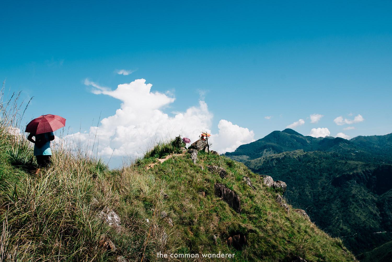 Little Adam's Peak - best things to do in Sri Lanka