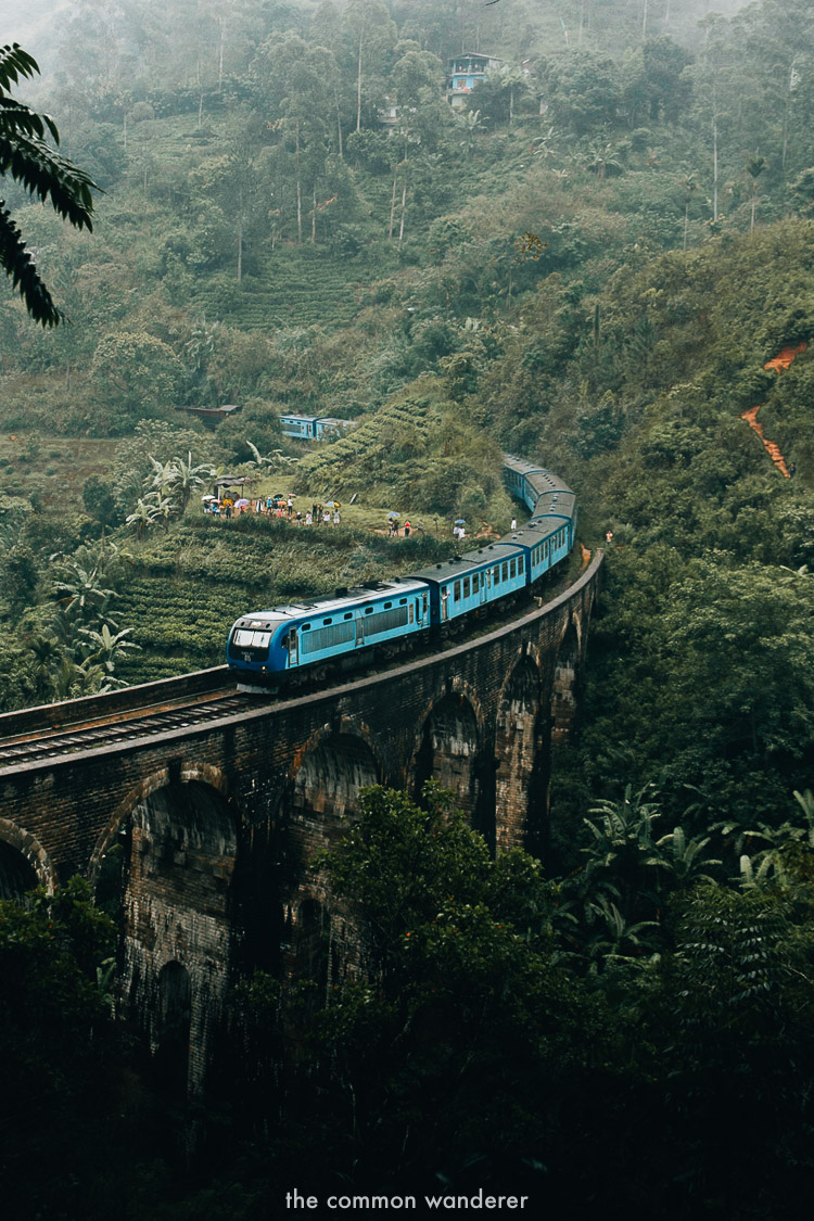 watching over the nine arch bridge, Ella - best things to do in Ella, Sri Lanka