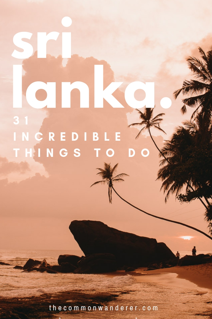 Stunning, friendly, and full of adventure: Sri Lanka really is a bite-sized Utopia! From tea plantations to pristine beaches, tasty meals and colonial cities; these are the best things to do in Sri Lanka, plus our travel guide & top travel tips | Sri Lanka | travel guides | Galle | Unawatuna | Hiriketiya | Yala | Udawalawe | Ella | Jaffna | Mirissa | Sigiriya | Kandy | travel photography | Ceylon | #SriLanka
