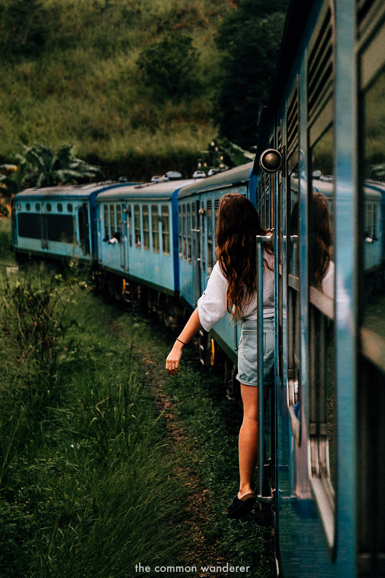 Ella to Kandy train ride is one of the best things to do in Sri Lanka