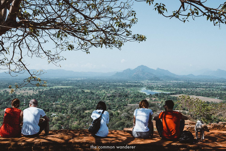 The view from one of Sri Lanka's most popular sights, Sigiriya - sri lanka travel tips
