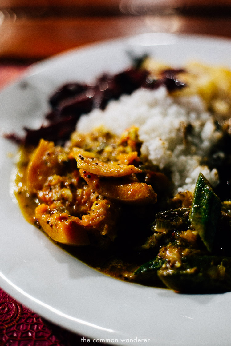 Delicious rice and curry is a must in Sri Lanka - sri lanka travel tips